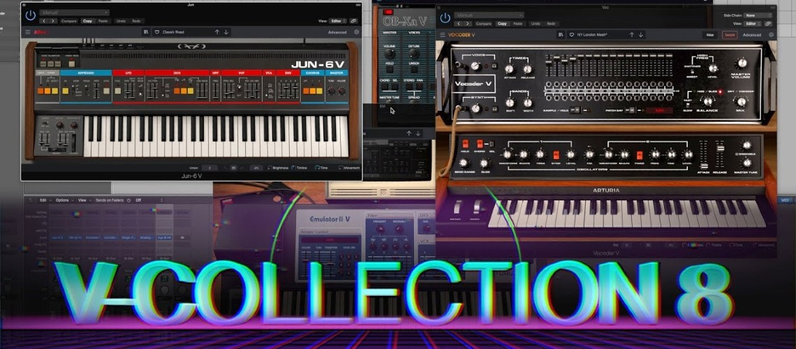 Arturia Lança V Collection 8: Novas Emulações Juno-106, Emulator II e Vocoder