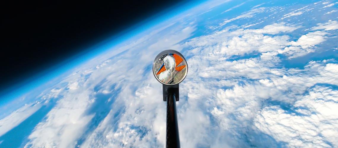 Moeda Royal Mint de David Bowie Enviada Para… O Espaço!