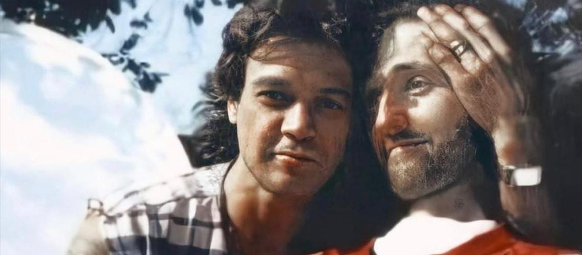 Imagens Inéditas e Emocionantes de Eddie Van Halen e Jason Becker
