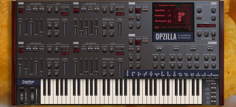 Sintetizador FM Opzilla, Um Plugin Que É Um Monstro