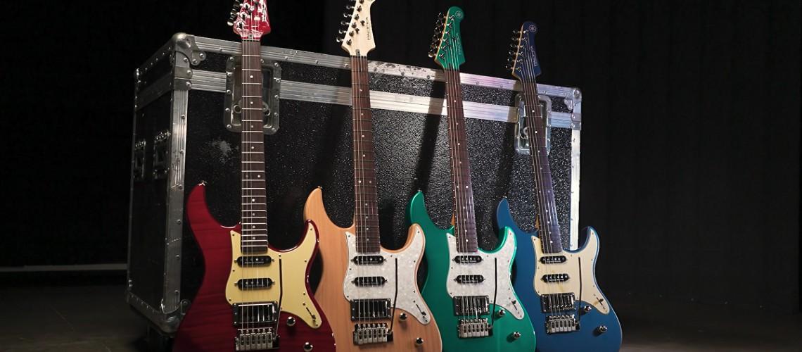 Yamaha Celebra 30º Aniversário da Gama Pacifica Com Duas Novas Guitarras