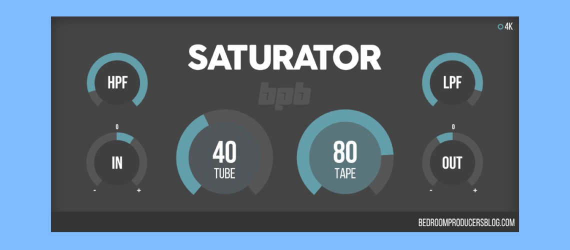 BPB Saturator, Plugin Gratuito