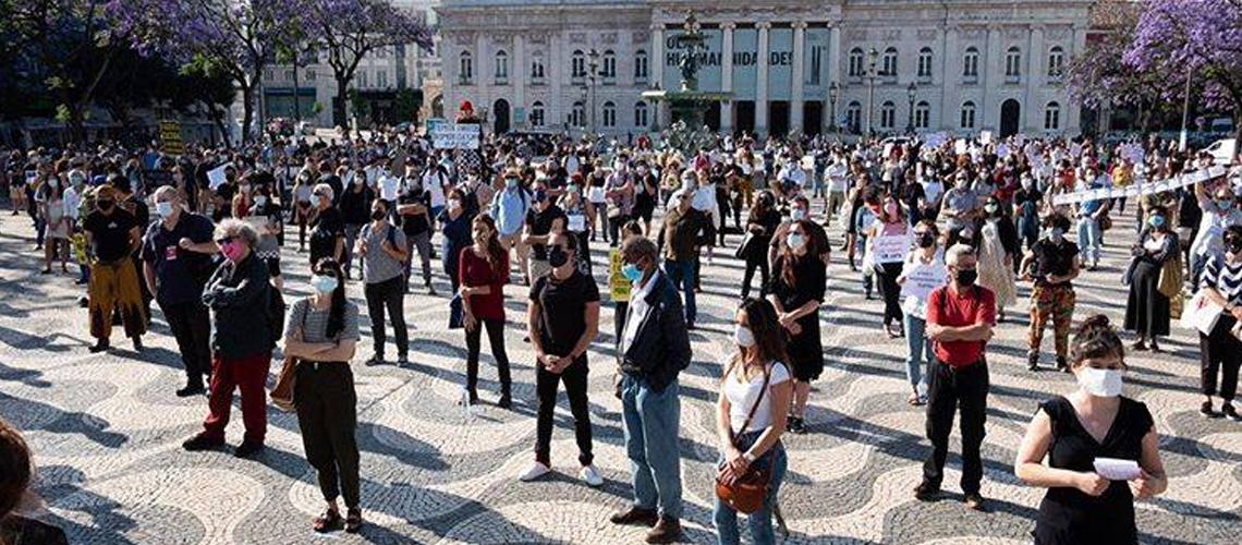 Nova Manifestação Do Sector Da Cultura No Final De Janeiro