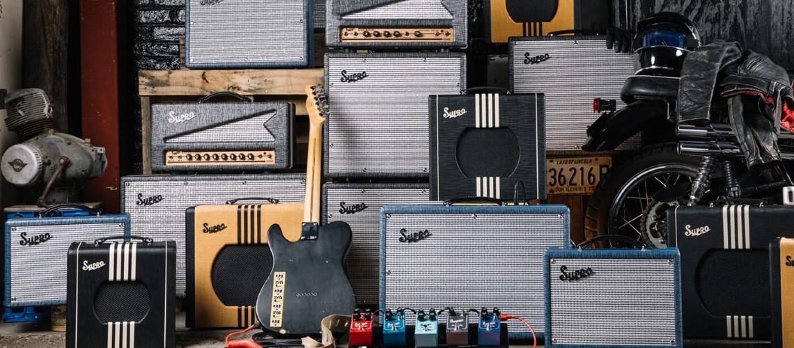 Novos Amps e Pedais Supro, Visual Retro & Som Clássico