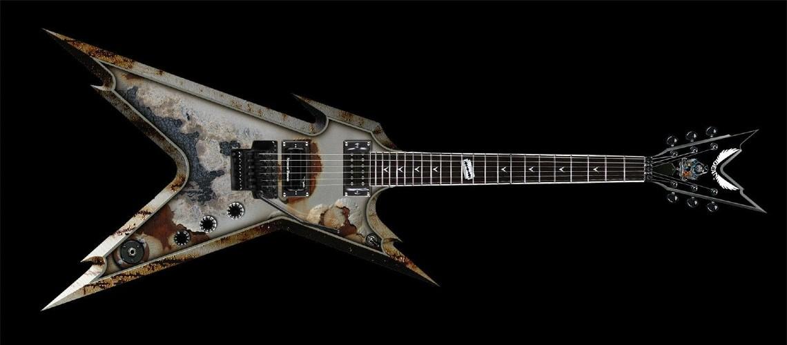 Dean Guitars Ressuscita Dime Razorback Rust