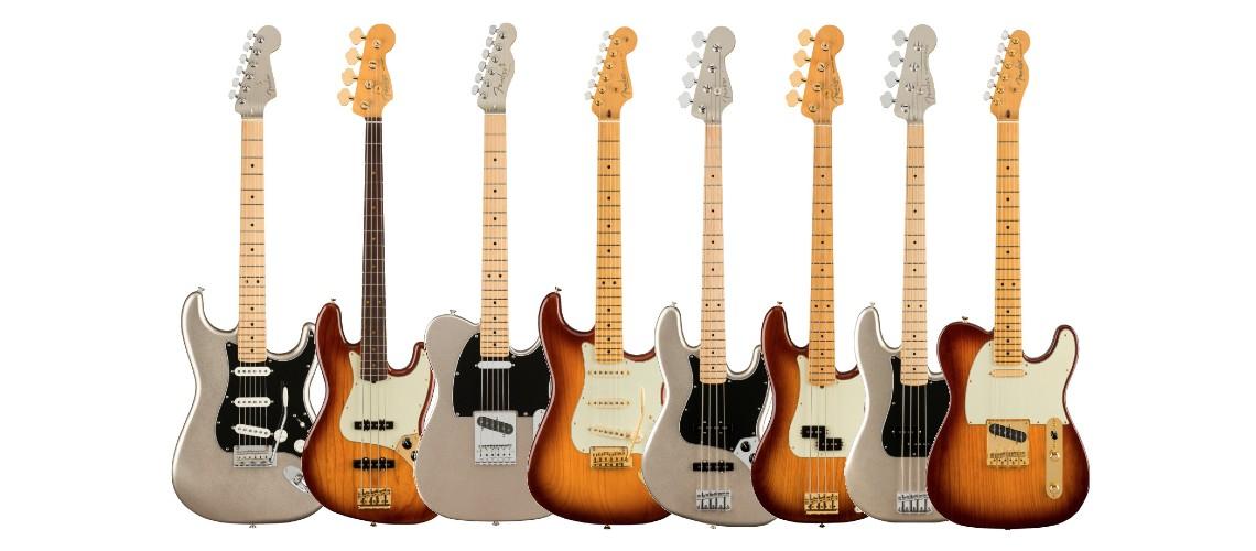 Fender Celebra 75º Aniversário Em Grande Estilo Com Modelos Comemorativos
