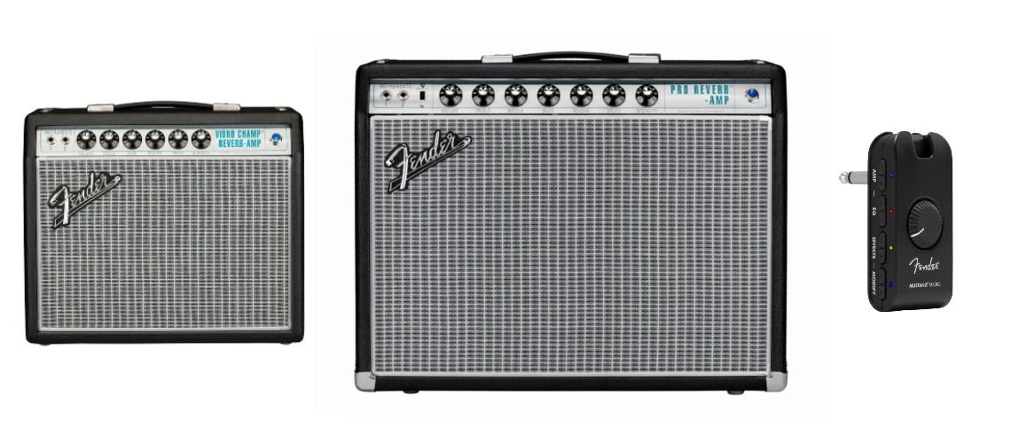 Fender Lança Novos Amps '68 Custom e o Portátil Micro Mustang