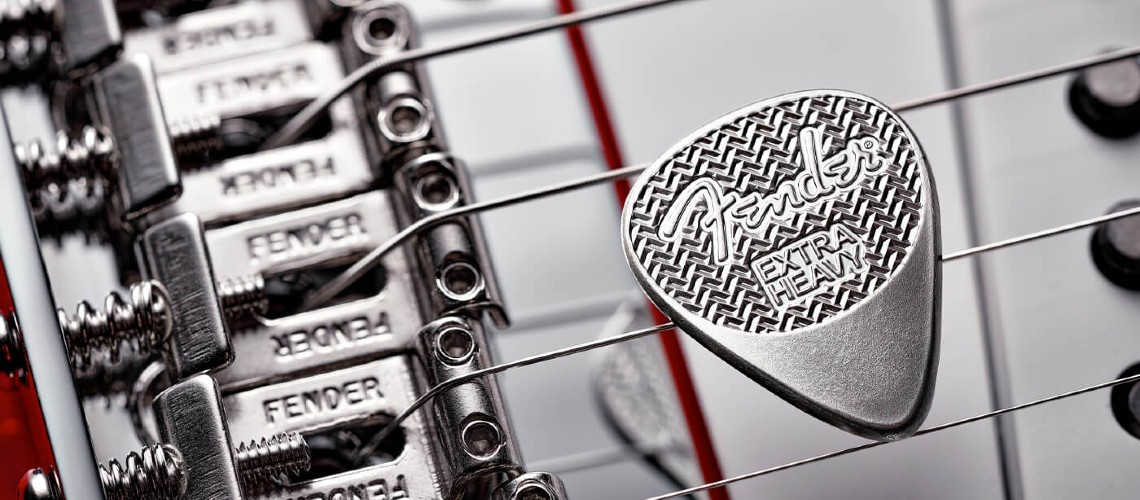 Fender Sterling Silver Guitar Pick