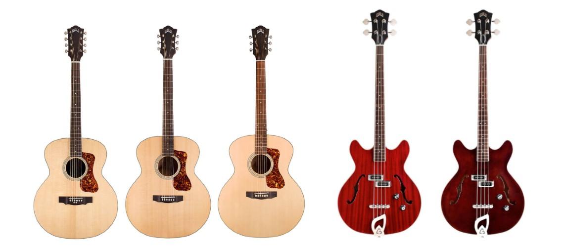 Guild Introduz Novo Starfire e Uma Incomum Guitarra Barítono