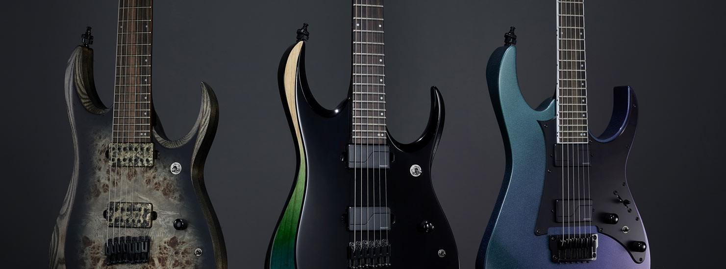 Ibanez Guitars, Catálogo 2021