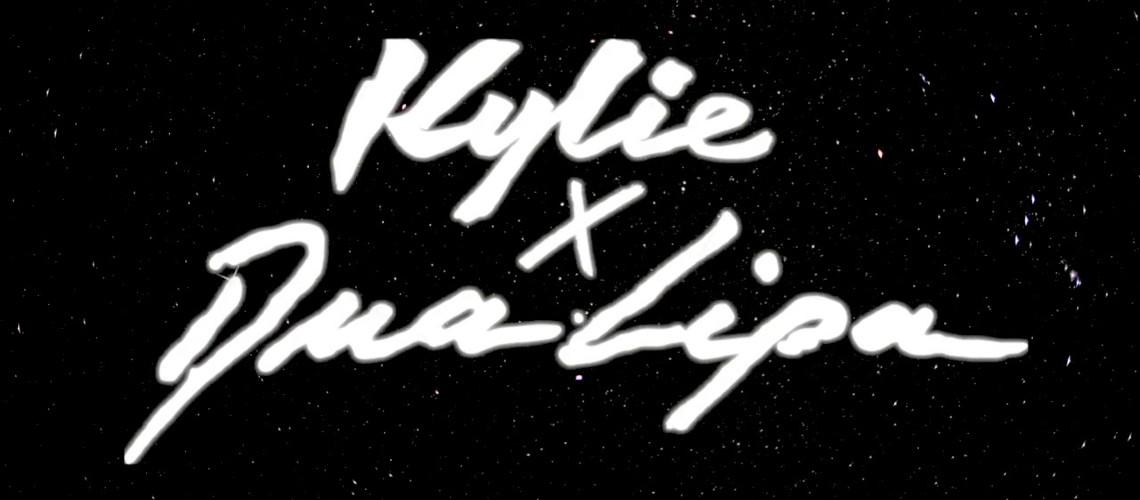 """Kylie Minogue & Dua Lipa, """"Studio 2054"""" Remix"""