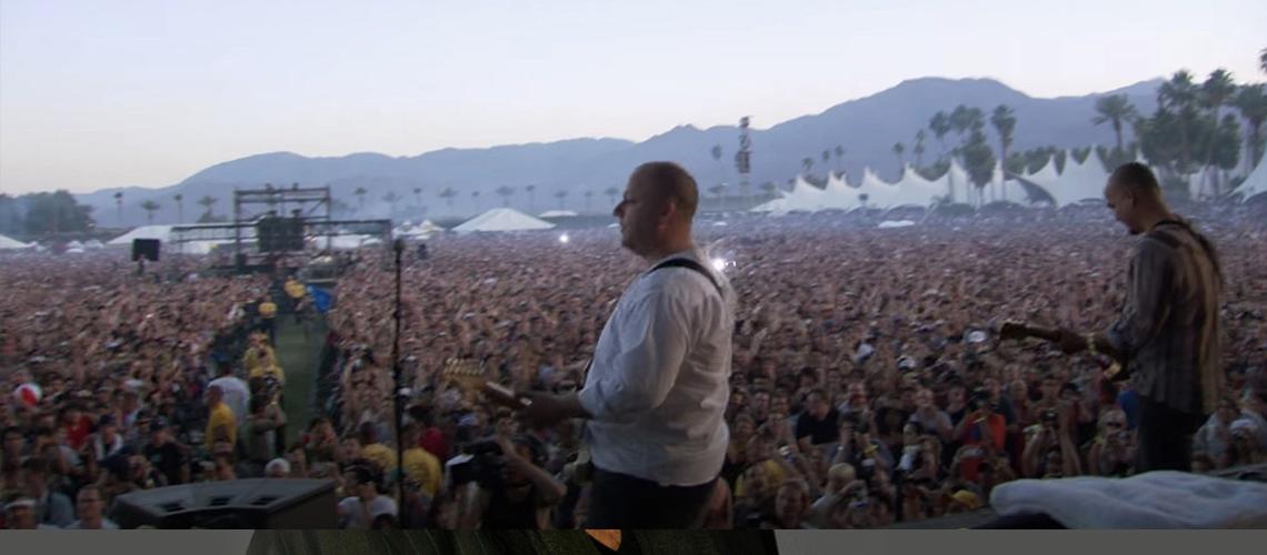 Pixies disponibilizam concerto de reunião no Coachella de 2004 [Streaming]