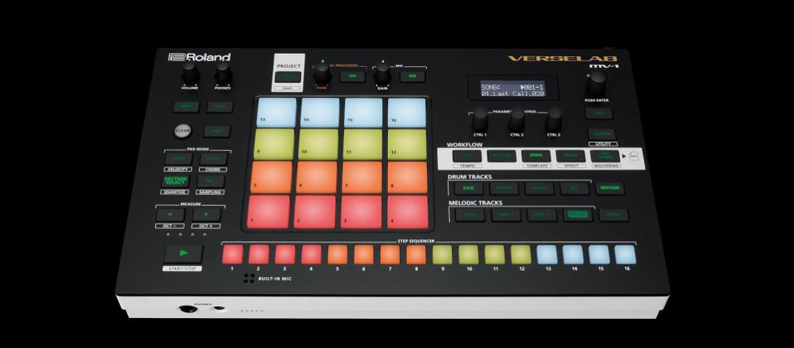 Roland Verselab MV-1, Estúdio de Produção Musical Autónomo