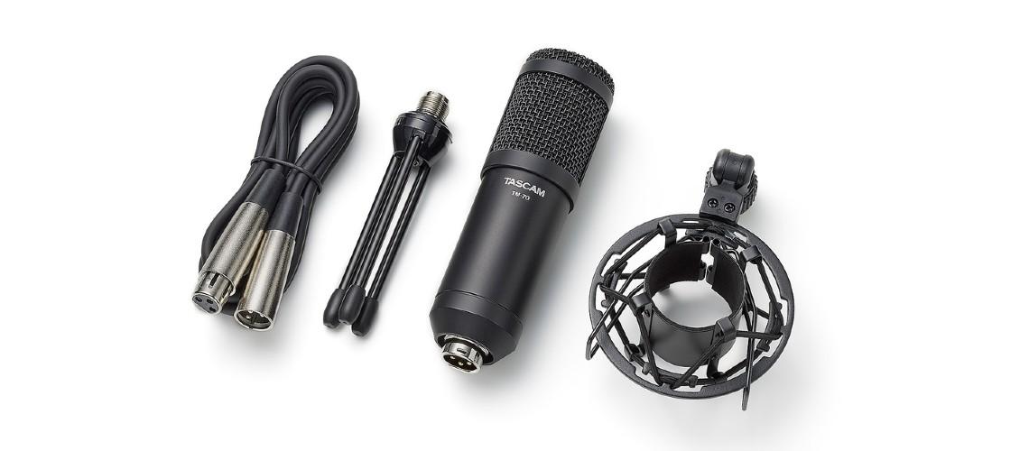 Tascam Tem Dois Novos Microfones Dinâmicos