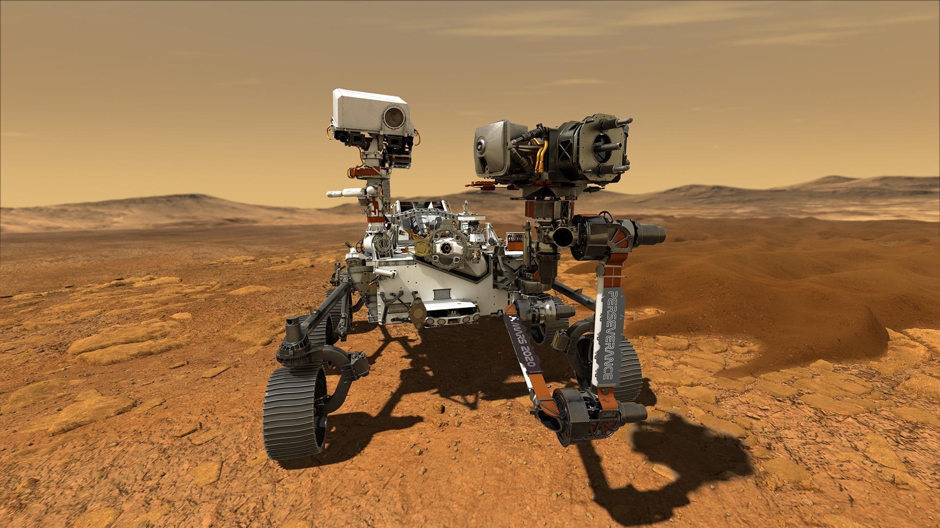 Robô da NASA Equipado Com Microfones Para Captar Áudio em Marte
