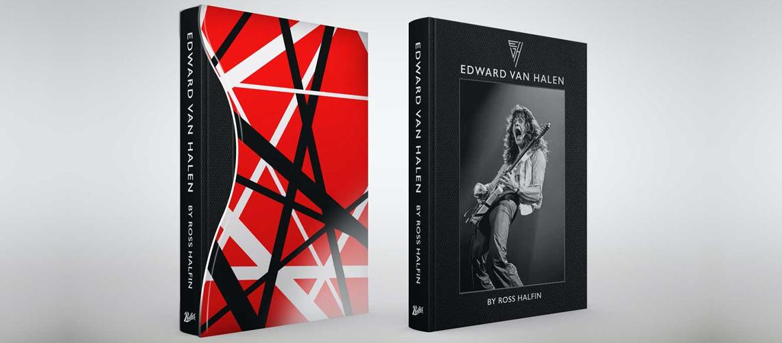 Livro De Ross Halfin Com Fotografias De Eddie Van Halen