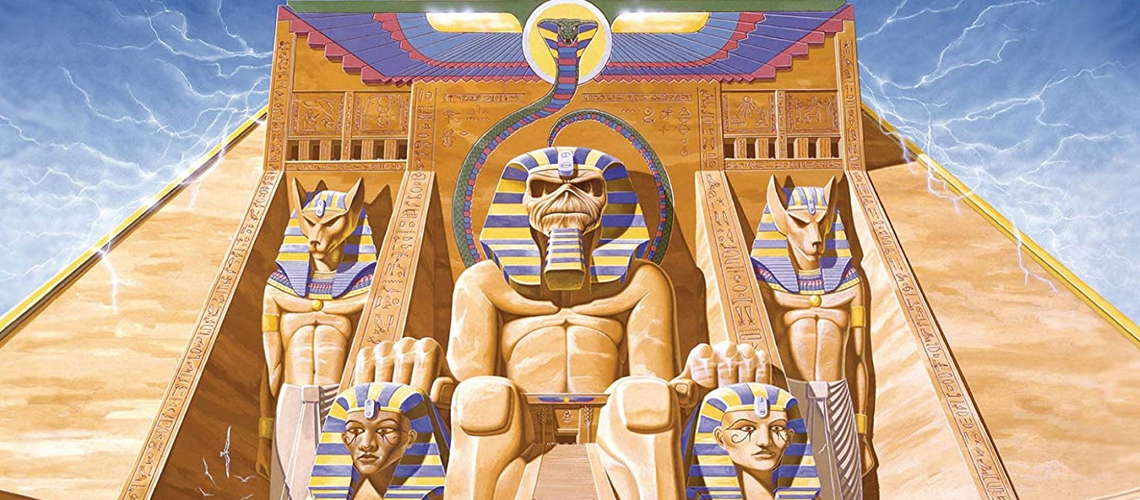 "Listening Party Online de ""Powerslave"" [Iron Maiden]"