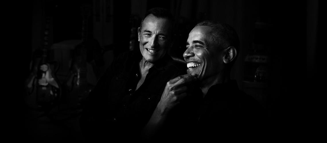 "Bruce Springsteen E Barack Obama Juntos No Novo Podcast ""Renegades: Born in the USA"""