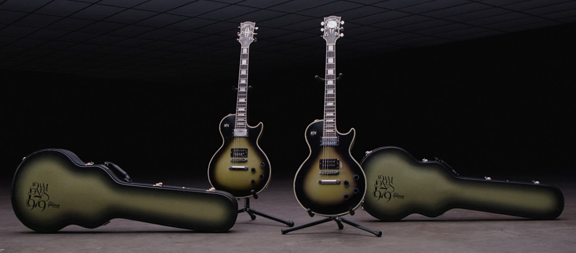 Os Segredos da Nova Gibson Adam Jones 1979 Les Paul Custom