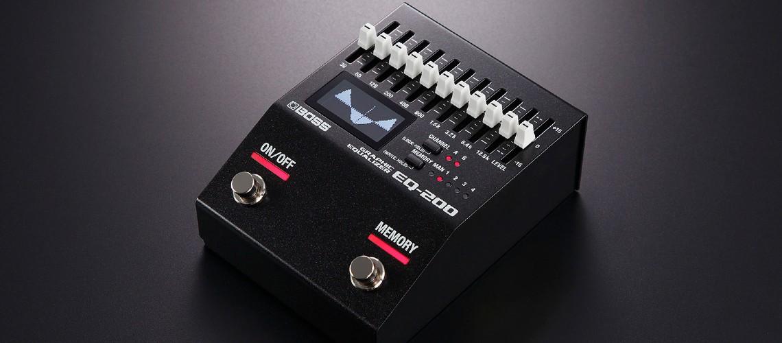 BOSS EQ-200 Graphic Equalizer [Teste em Vídeo]
