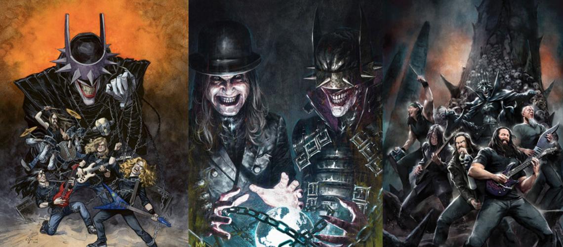 Ozzy, Sepultura, Megadeth e Ghost, Entre Outros Em Série De BD Da DC Comics