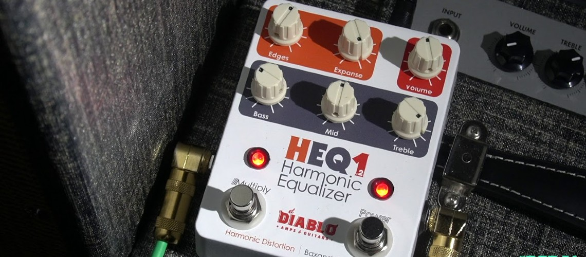 El Diablo Amps And Guitars: Nova Versão do Fuzz Equalizador Harmónico HEQ1