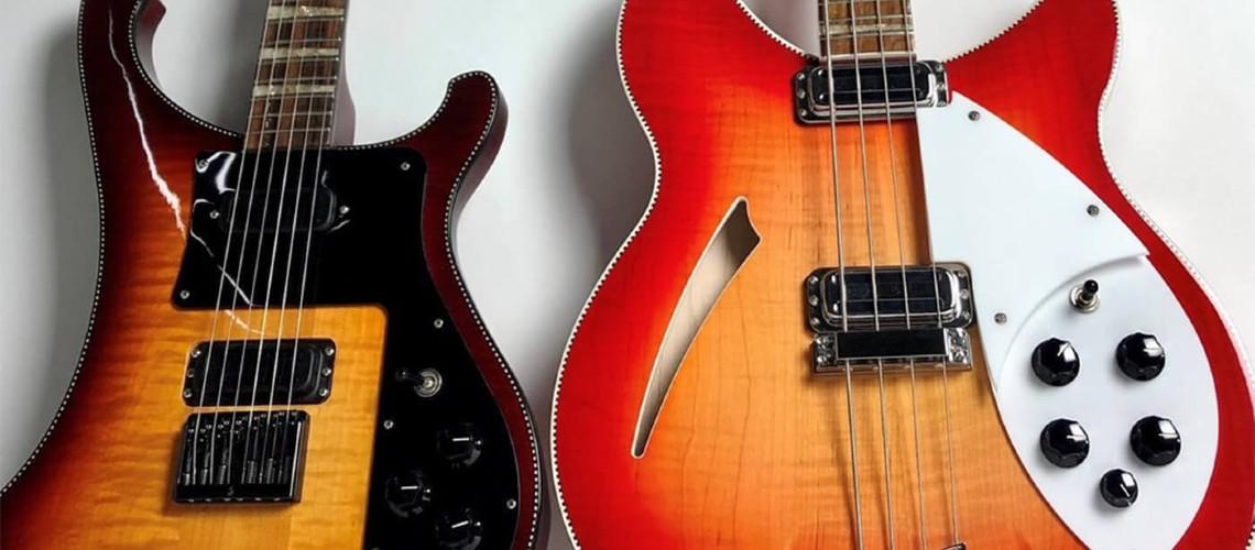 Rickenbacker, 90º Aniversário com Dois Novos Modelos de Edição Limitada