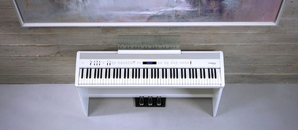 Pianos Digitais Roland Série FP-X