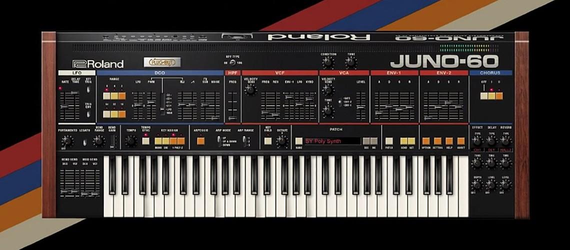 Roland Juno-60 de Regresso!