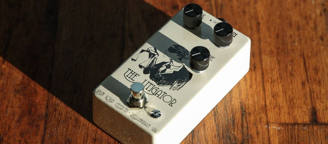 Spun Loud Effects: Litigator Overdrive