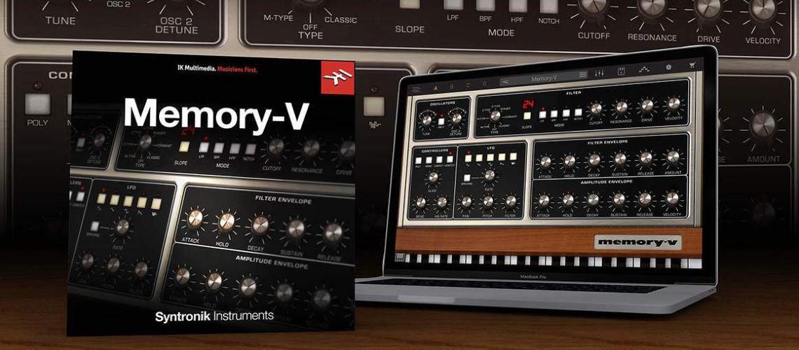Syntronik Memory-V: Moog Gratuito Até 26 De Fevereiro