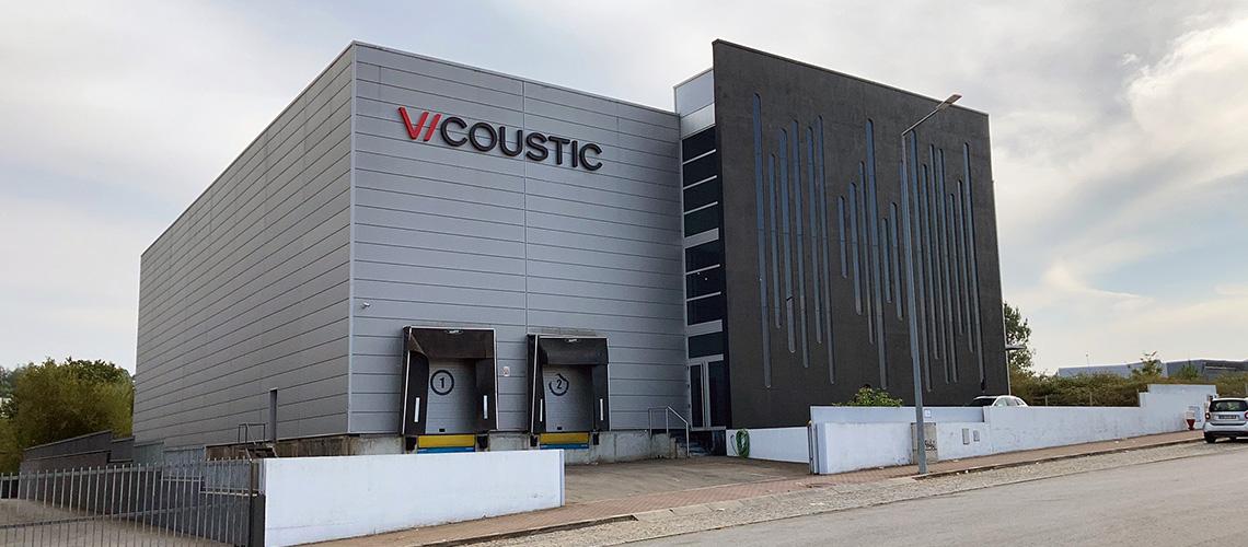 Vicoustic: Maior Fábrica do Mundo de Soluções Acústicas Vai Nascer em Paços De Ferreira