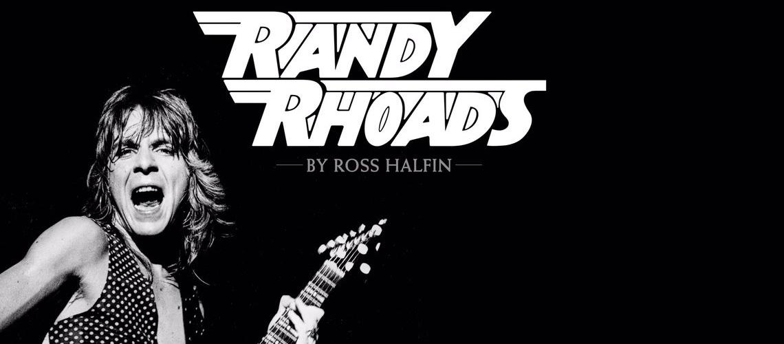 Randy Rhoads Em Novo Livro De Ross Halfin