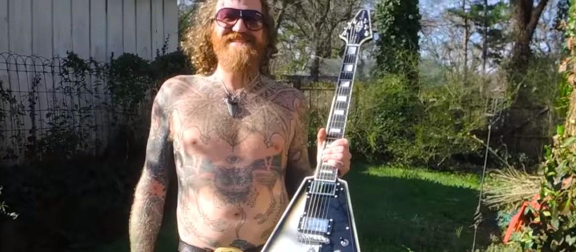 Brent Hinds [Mastodon] Confessa a Sua Religião, os AC/DC