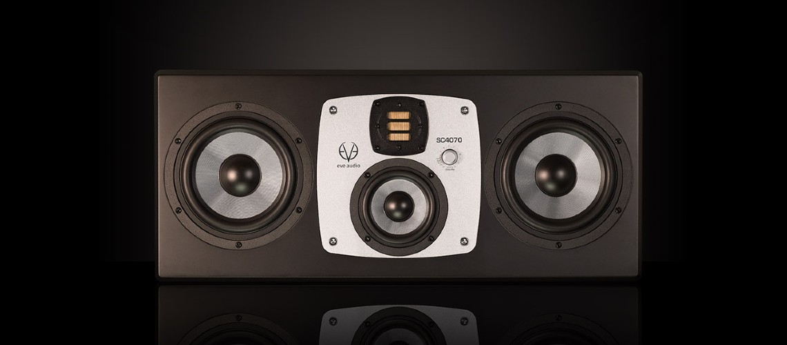 Monitores SC4070 da Eve Audio