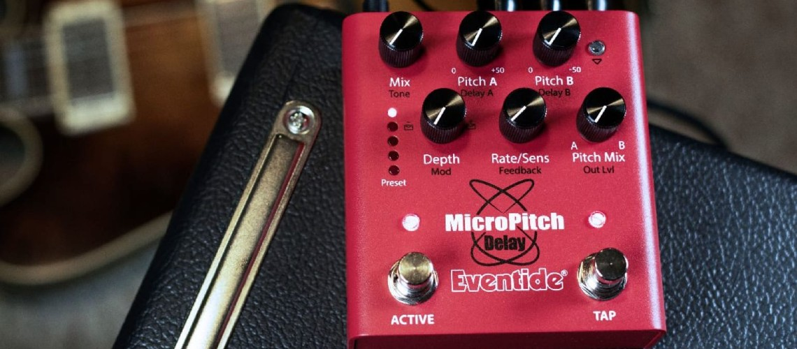 Eventide MicroPitch Delay Torna-se num Pedal