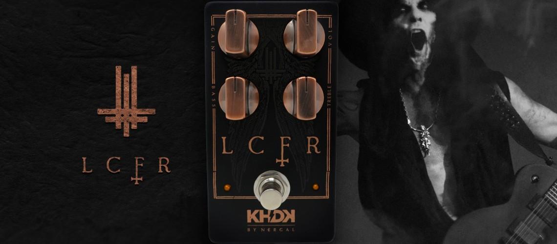 KHDK Electronics LCFR, Overdrive com Assinatura de Nergal [Behemoth]
