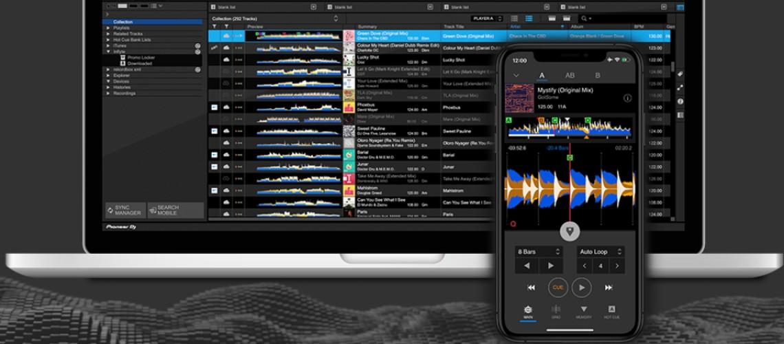 Pioneer DJ Anuncia Versão da Rekordbox Para Android