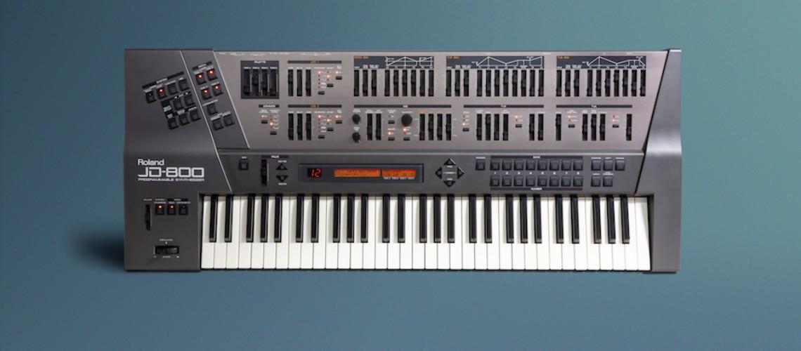 Roland Anuncia Expansão do Sintetizador JD-800