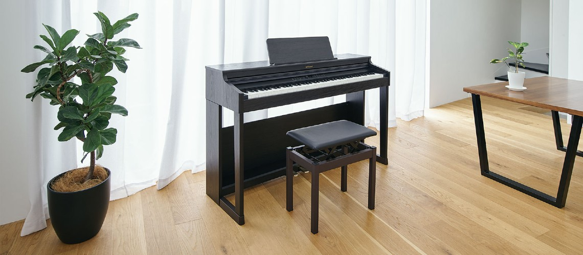 Roland RP701, Piano Digital Familiar