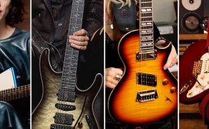 signature guitars woman