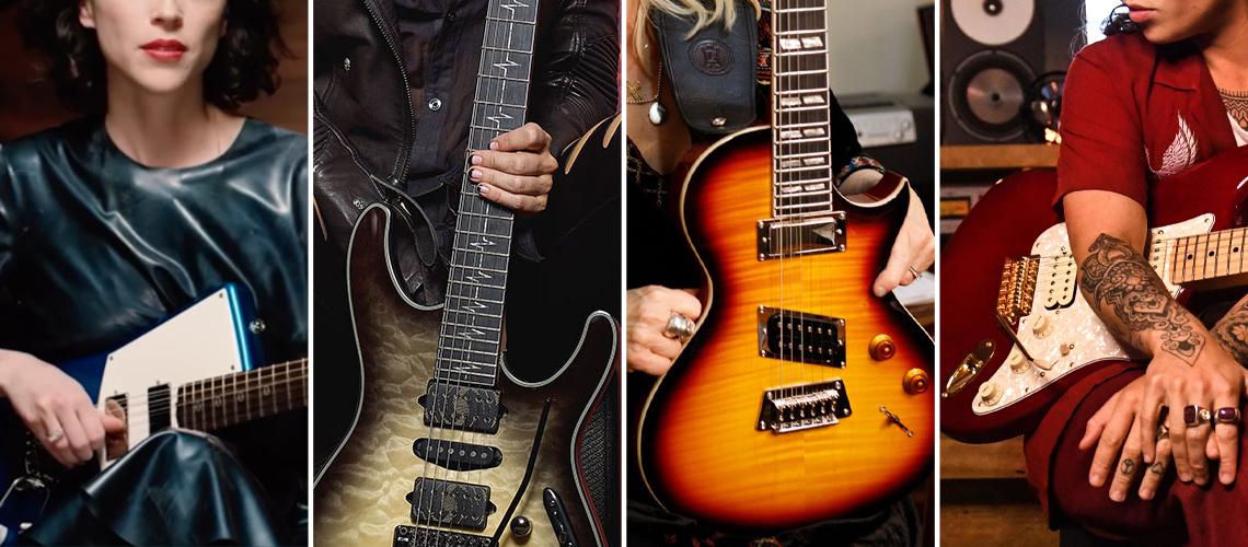 As Melhores Guitarras de Assinatura de Mulheres