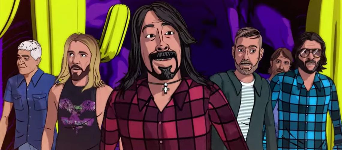 """Foo Fighters: Novo Vídeo Animado para """"Chasing Birds"""" é uma 'Trip' no Deserto"""