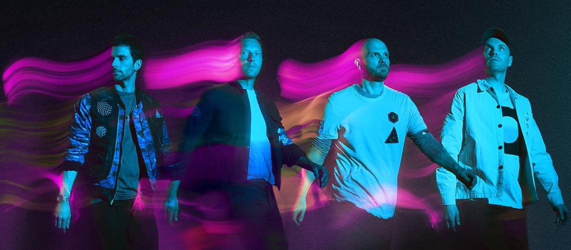"""Coldplay Estreiam Novo Single, """"Higher Power"""", Directamente a partir do Espaço"""