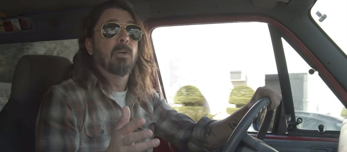 "Novo Documentário de Dave Grohl, ""What Drives Us"" [Trailer]"