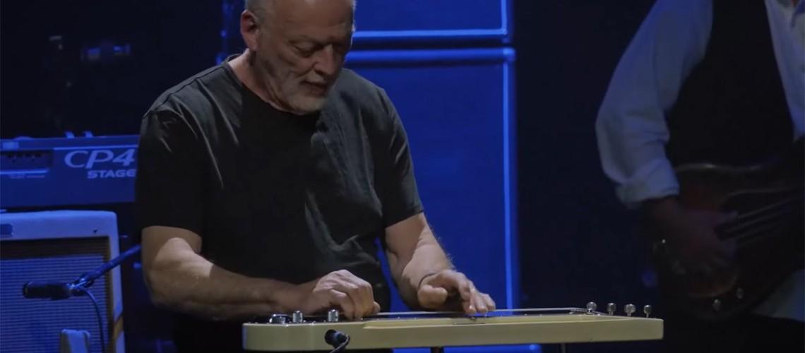 Mick Fleetwood & Friends, David Gilmour e uma Lap Steel de Partir Corações