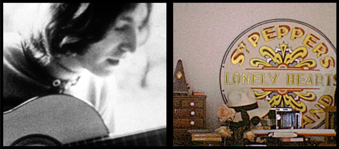 """Imagens inéditas de John Lennon e Yoko Ono no Vídeo para """"Look At Me"""""""