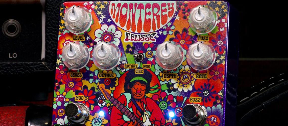 Keeley Electronics, Monterey Rotary Fuzz Vibe em Edição Especial