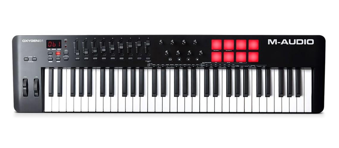 M-Audio, Nova Vida nos Teclados MIDI Oxygen