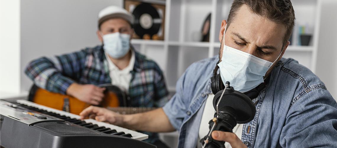 Uso de Máscaras Aumentou Patologias da Voz dos Artistas